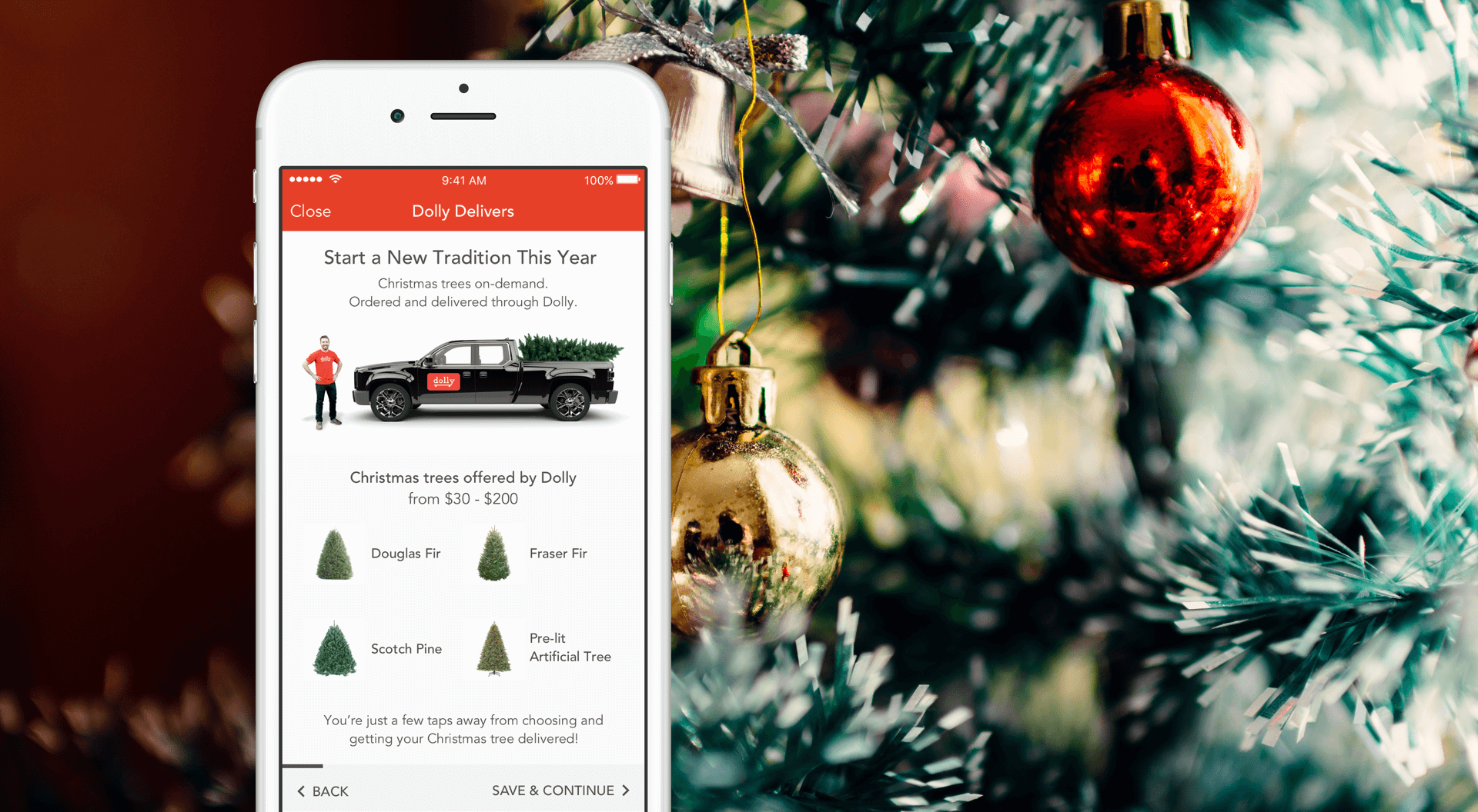 Start a new tradition this year on demand christmas trees for How did the christmas tree tradition start