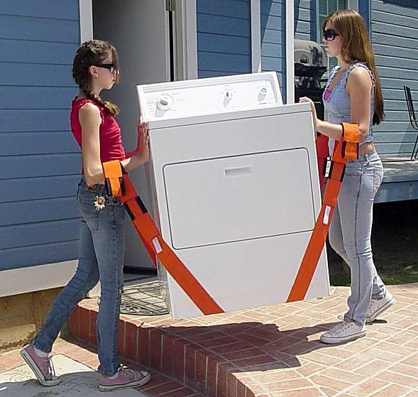 How to safely move a washer and dryer dolly blog for How to move a building