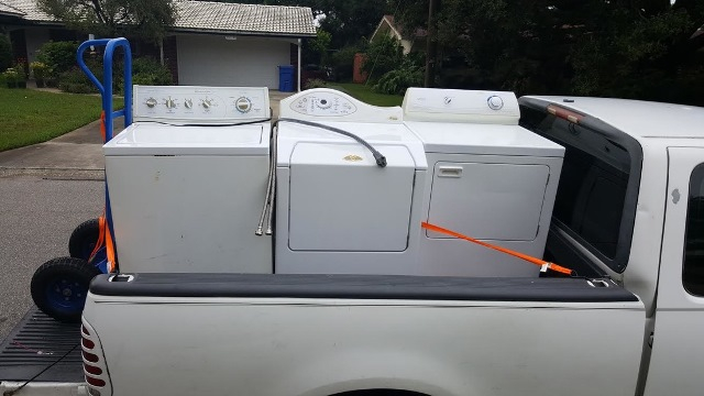 Moving Your Washer And Dryer Into New Home Or Apartment