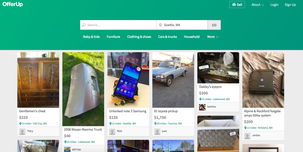 OfferUp vs  Craigslist: The Pros, Cons, & Alternatives | Dolly Blog