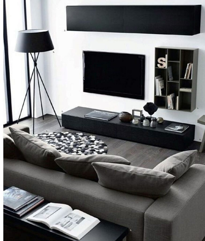 Black & White Living Space