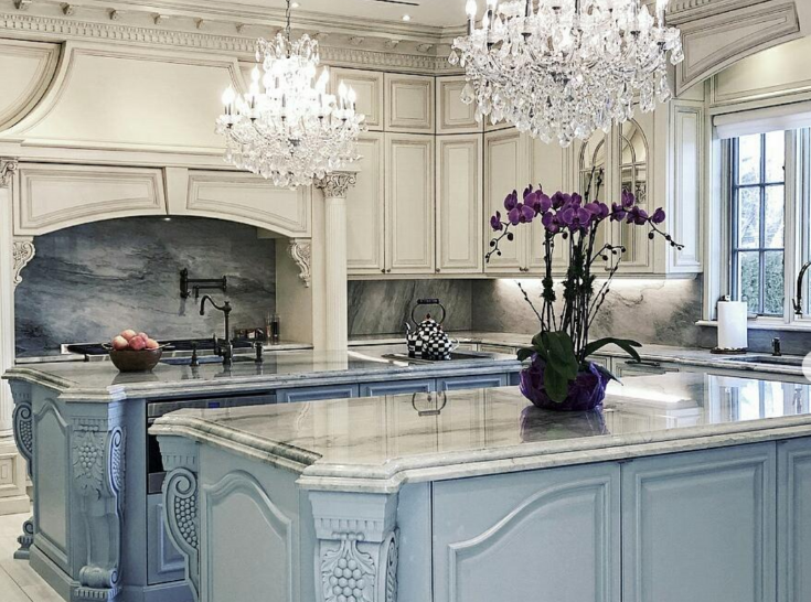 A Classy French Country Kitchen Color