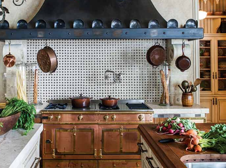 Copper Kitchen Appliances and Hardware